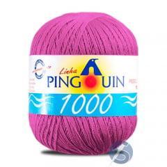 Linha Pingouin 1000 327 Fucsia Pink 150gr