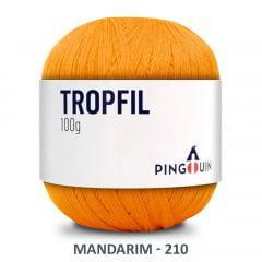 Linha Tropfil 210 Mandarim Pingouin 100g