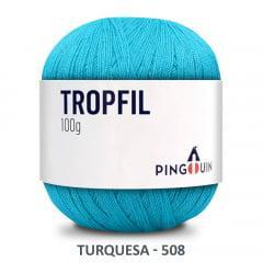 Linha Tropfil 508 Turquesa Pingouin 100g