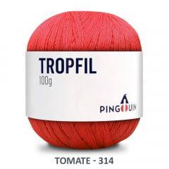 Linha Tropfil 314 Tomate Pingouin 100g