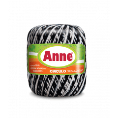 Linha Anne 9016 Zebra 65m Círculo