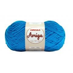 Lã Amiga 2194 Turquesa 100g