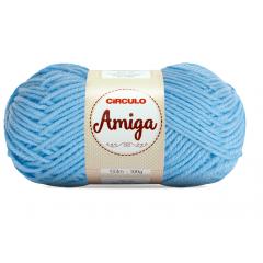 Lã Amiga 2253 Azul Candy 100g