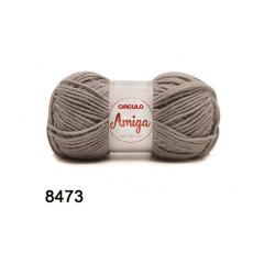 Lã Amiga 8473 Alumínio 100g