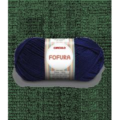 Lã Fofura 640 Azul Marinho 100 g