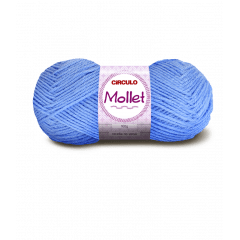 Lã Mollet Círculo 541 Enseada 40gr