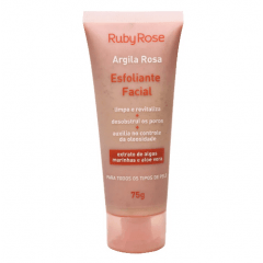 Esfoliante Facial Argila Rosa Ruby Rose