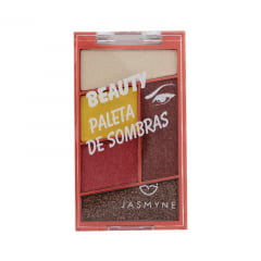 Paleta De Sombra Beauty Jasmyne A