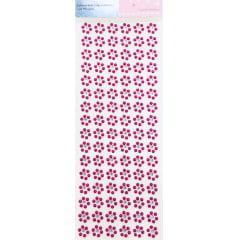 Flor adesiva pink