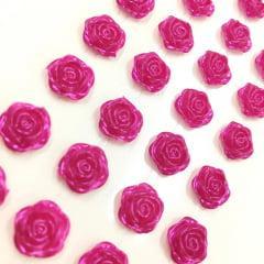 Rosa adesiva 12mm pink