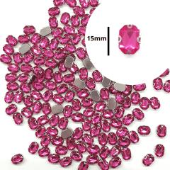 Chaton Engrampado Rosa Pink Octogonal 10 un