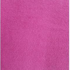 Tecido Atoalhado Felpudo Pink