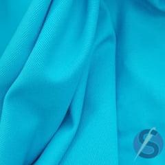 Tecido Brim Azul Turquesa