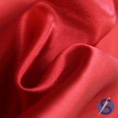 Tecido de Cetim Vermelho