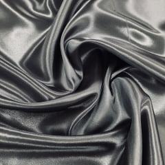 Tecido de Cetim Prata