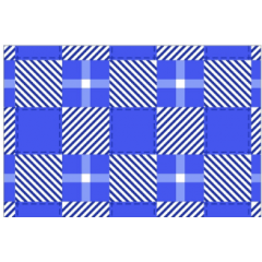 Tecido Chita Azul Xadrez Quadradinho