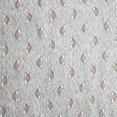 Tecido Cotton Cinza Arco Íris