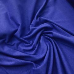 Tecido Cotton Ligth Azul Bic liso