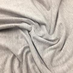 Tecido Cotton Malibu Cinza Mescla liso