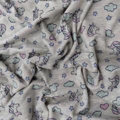 Tecido Cotton Unicórnio