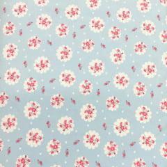 Tecido Lycra Confort New Azul Floral