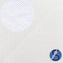 Tecido Pique Branco Favo Pequeno