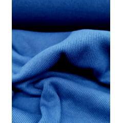 Tecido Ribana Canelada Azul Bic