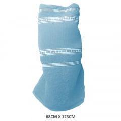 Toalha Banho Para Bordar Azul Bebê 1665 Classic Lisa