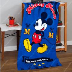 Toalha Banho Dohler Felpudo Licenciado Mickey