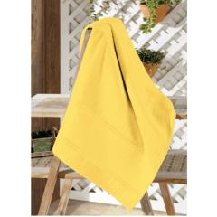 Toalha Banho Velour Artesanalle  Amarelo