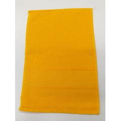 Toalha Lavabo Para Bordar Amarelo Ouro 0190 Slim Lisa