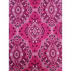 Tecido Bandana Pink Tricoline