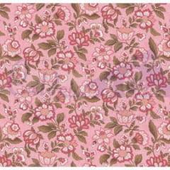 Tecido Tricoline Estampado Brigitte Bardot Rose