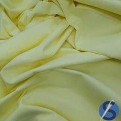 Tecido Tricoline Amarelo Bebê liso Ref 6910