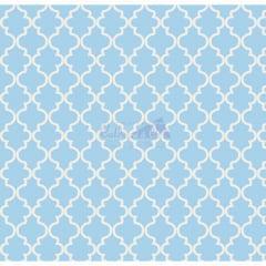 Tecido Tricoline Ana Azul