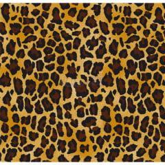 Tecido Tricoline Animal Print Leopardo