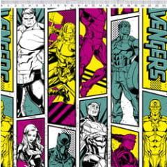 Tecido Tricoline Avengers