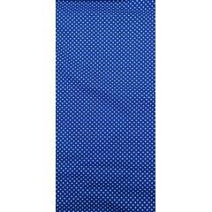 Tecido Tricoline Azul Bic Poá Pequeno