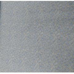 Tecido Tricoline Azul Catavento  Ref : 01392