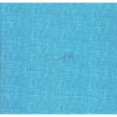 Tecido Tricoline Azul Piscina Textura Caldeira