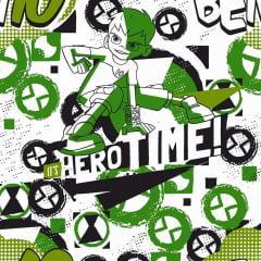Tecido Tricoline Ben 10 Hero