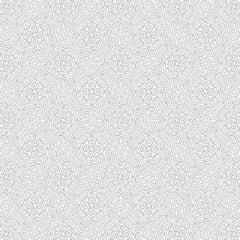 Tecido Tricoline Branco Desenhos Brnco
