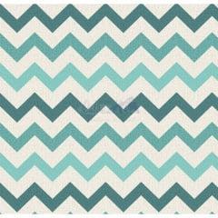 Tecido Tricoline Chevron Nara Tiffany