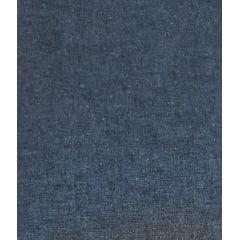 Tecido Tricoline Cor Jeans Azul