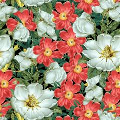 Tecido Tricoline Digital Floral Ref 9005