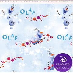 Tecido Tricoline Digital Frozen Olaf