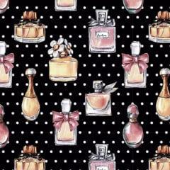Tecido Tricoline Digital Perfumes