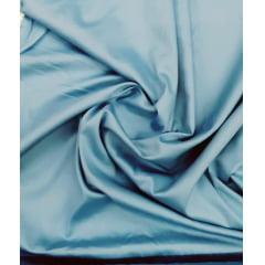 Tecido Tricoline Liso Azul Aquamarine Acetinado