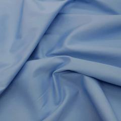 Tecido Tricoline Liso Azul Francia Bulgatti