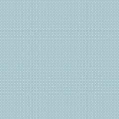 Tecido Tricoline  Mini Poá Azul Bebê  Ref : 900324